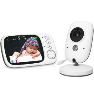 """EYSAFT beebimonitor 3.2"""" ekraaniga ja kaameraga 1/3"""